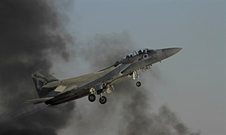 Report: IAF strikes Damascus Airport