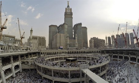 Kaaba at Mecca's Grand Mosque