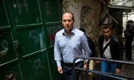 Barkat visits site of attack