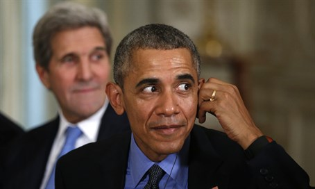 Barack Obama, John Kerry