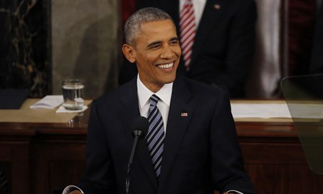 President Barack Obama delivers his 2016 State of the Union address