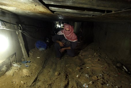Gaza terror tunnel