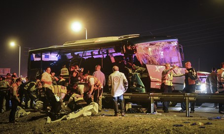 Highway 1 bus crash