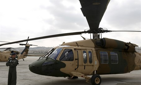 Jordan receives Black Hawk helicopter