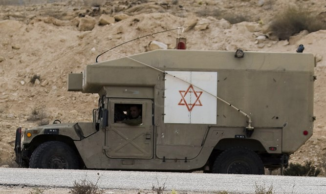 IDF ambulance