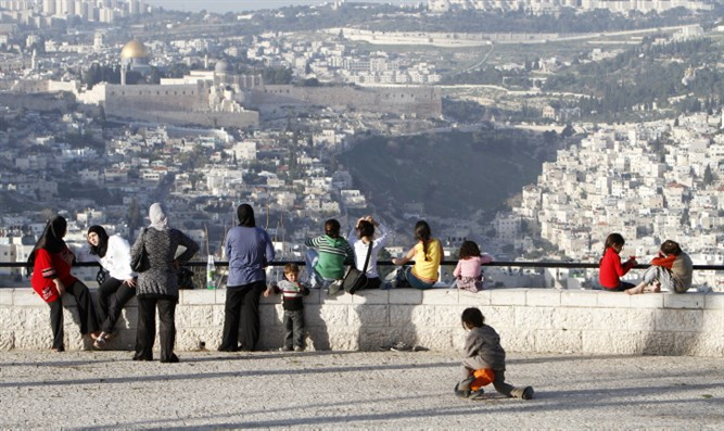 View of Jerusalem from Armon Hanatziv neighborhood