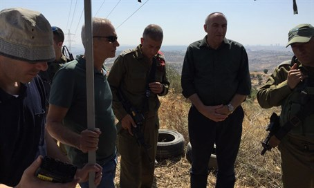 Knesset's Foreign Affairs and Defense Committee members visit Judea and Samaria