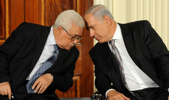 Abbas and Netanyahu (archive)