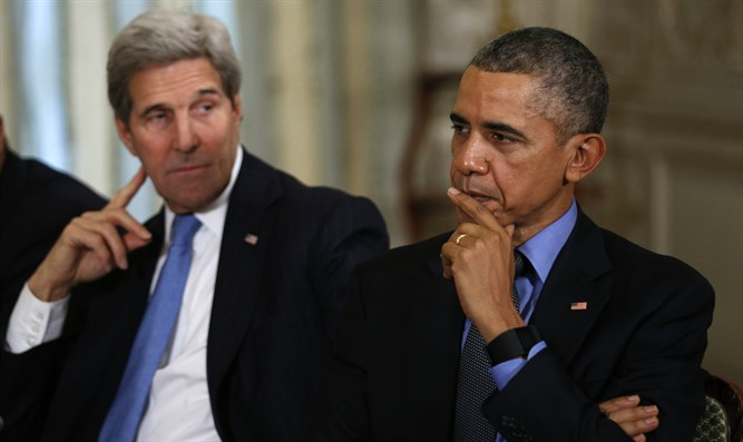 Kerry and Obama