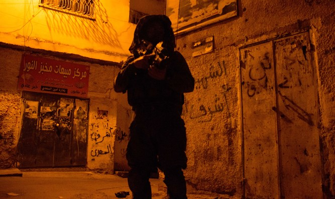 IDF soldier in Jenin