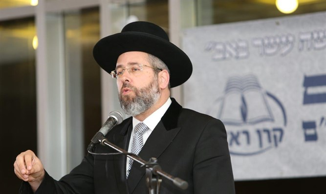 Chief Rabbi Lau at Kenes Re'em