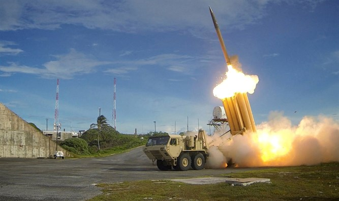 Terminal High Altitude Area Defense (THAAD) interceptor