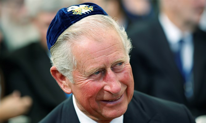 Prince Charles in Israel for Shimon Peres's funeral