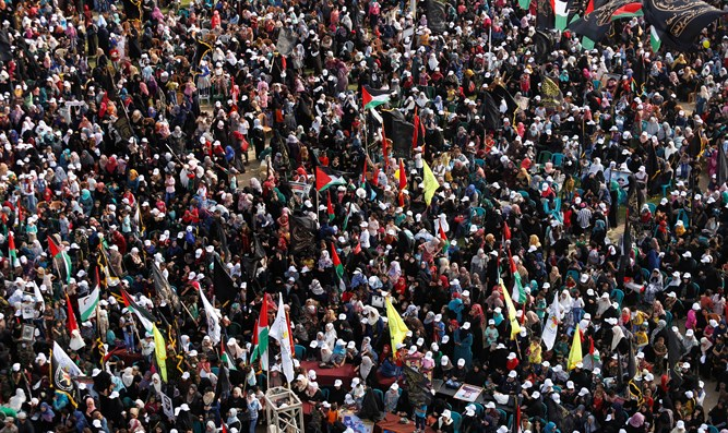 Islamic Jihad rally in Gaza