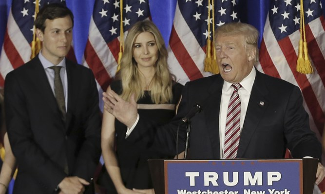 Trump, Ivanka, and Jared Kushner