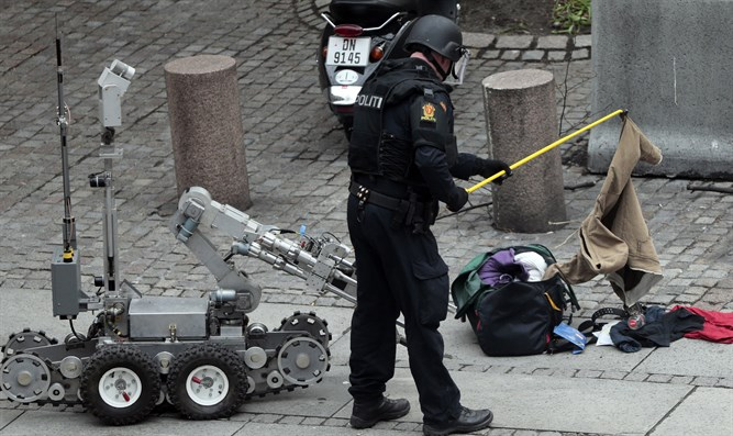 Police bomb disposal unit in Oslo (file)