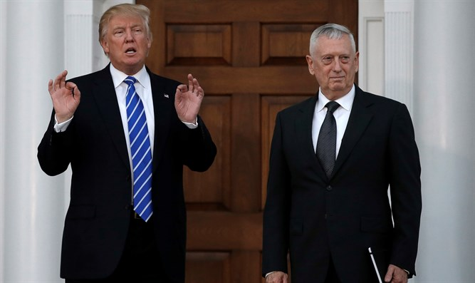 President Trump, Defense Secretary James Mattis