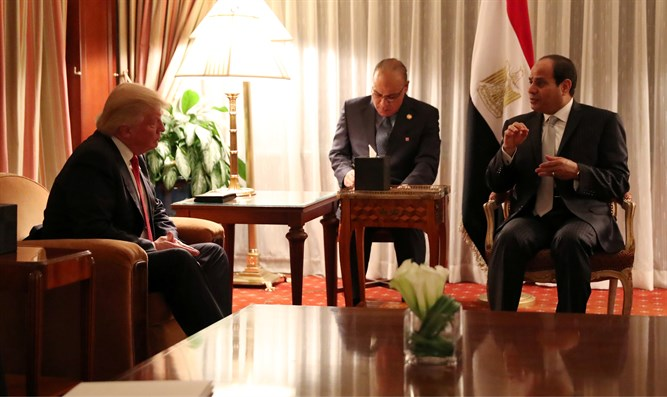 Trump and Sisi meet in New York