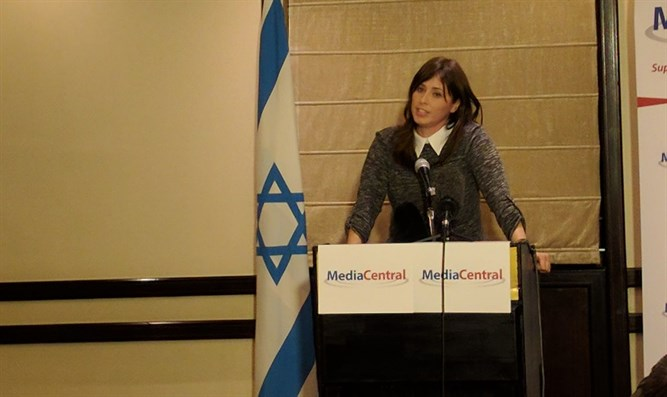 Hotovely addresses foreign journalists