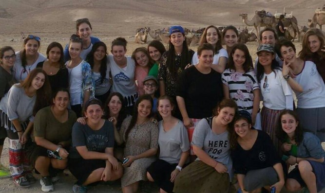 Naale students in Israel