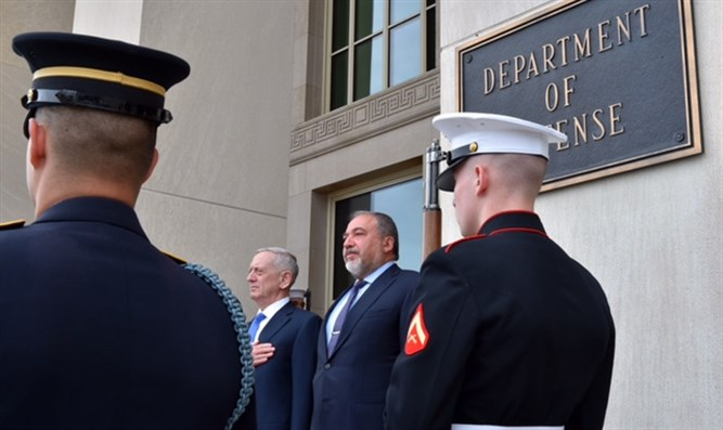Liberman received at the Pentagon