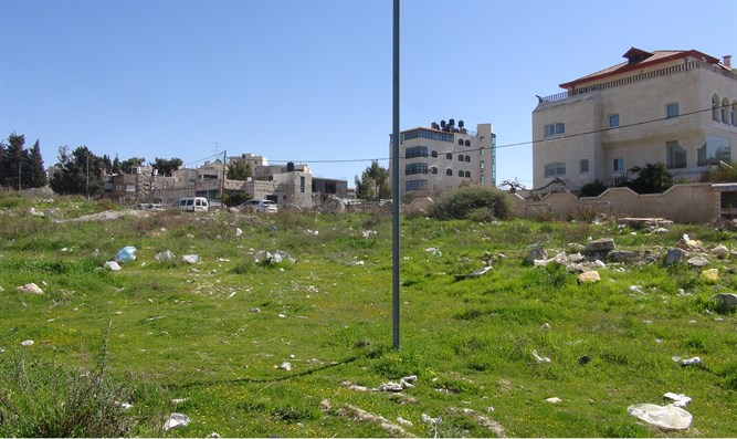 The land near Beit Hanina
