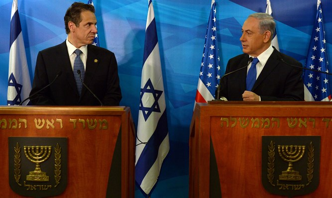 Prime Minister Netanyahu and New York Governor Andrew Cuomo