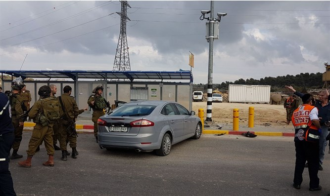 Attempted ramming at Gush Etzion