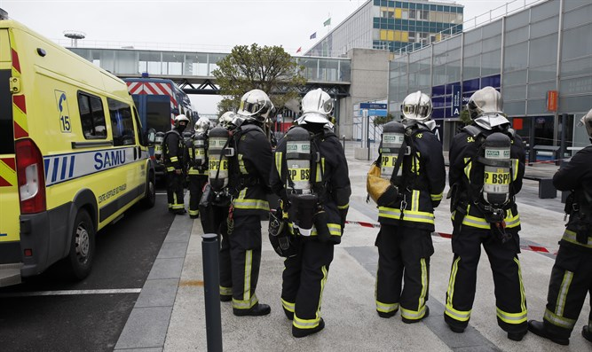 Emergency services at Orly airport