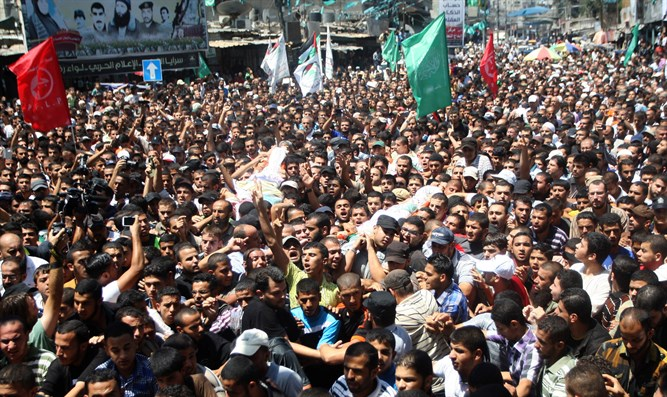 Hamas funeral in Gaza