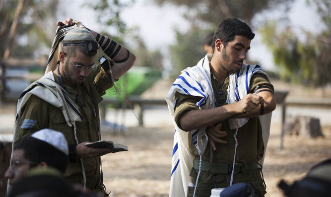 Religious-Zionists play an increasingly prominent role within the army
