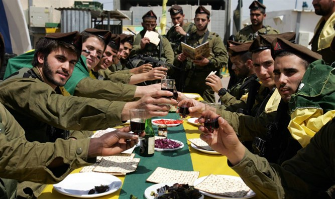 Passover in the IDF
