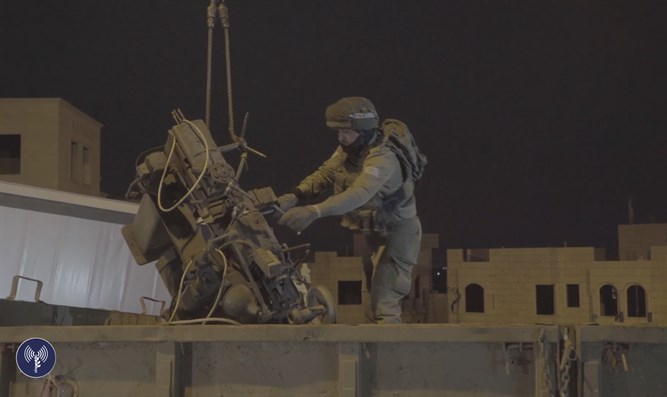 IDF operation to round up illegal weapons