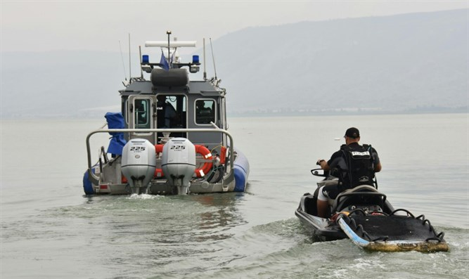 searches for missing persons in Kinneret