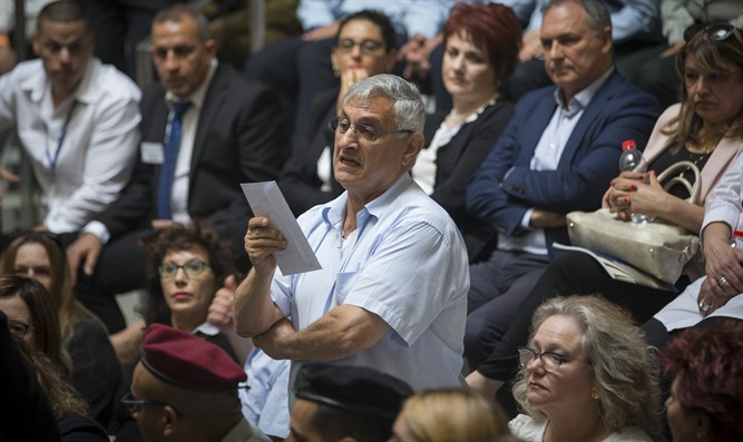 The bereaved father who interrupted Netanyahu's speech