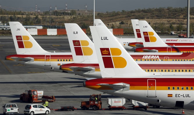 Iberia Airlines aircraft