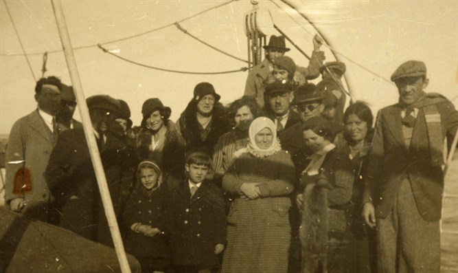 European immigrants arriving in Israel (file)