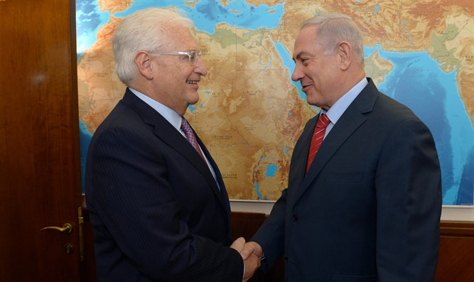 PM Netanyahu and Ambassador Friedman