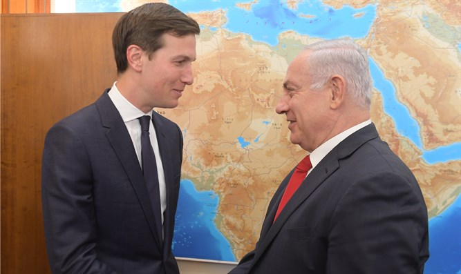 Netanyahu and Kushner meet