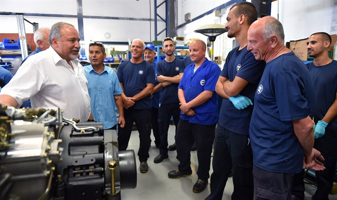 Liberman touring factory: today