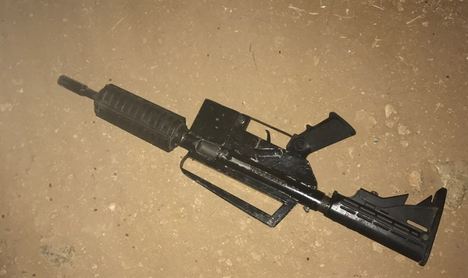 Weapon used by the terrorist during the arrest