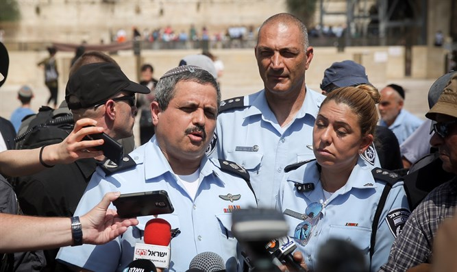 Police Chief at Western Wall