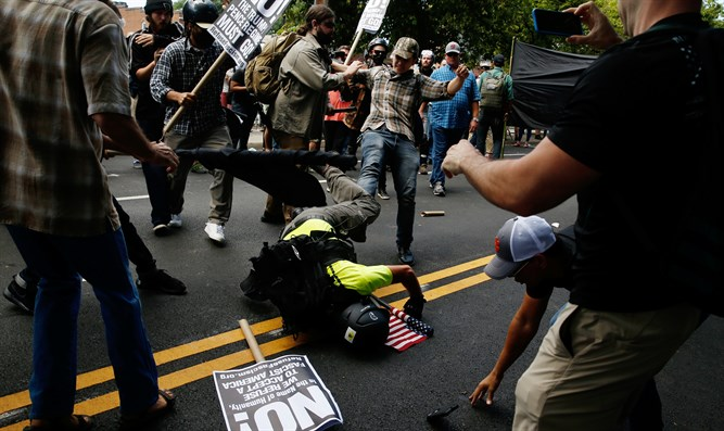 Clashes in Charlottesville