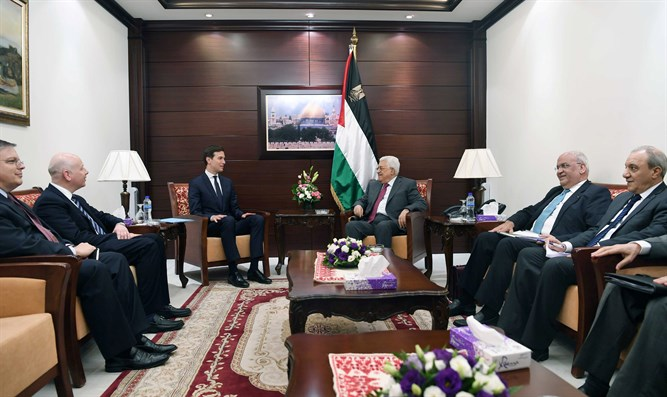 Kushner meets Abbas in Ramallah (archive)