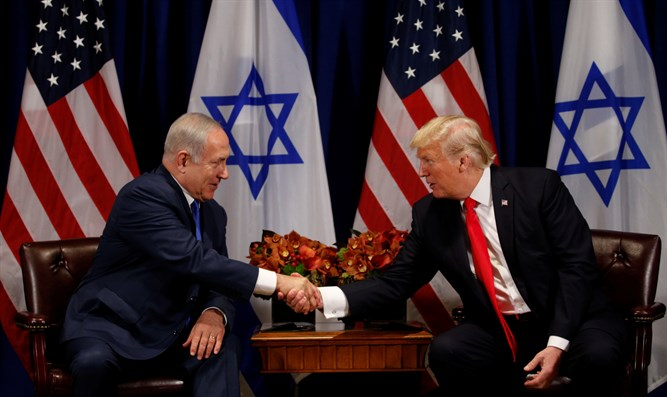 Trump and Netanyahu meet